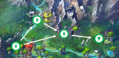 Classcraft mountain quest map