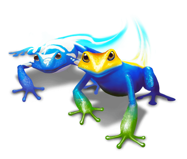 Two frogs from Classcraft